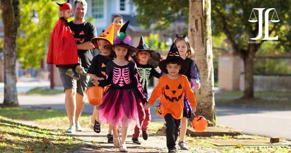 halloween kids walking